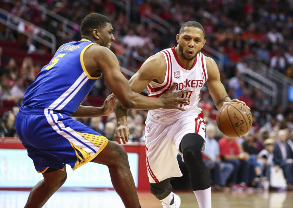Durant, Thompson power Warriors over Rockets in National Basketball Association  playoffs