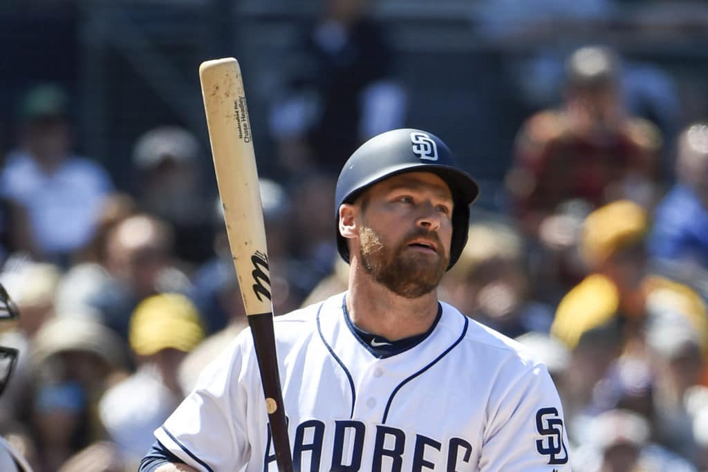 San Diego Padres designate Chase Headley for assignment