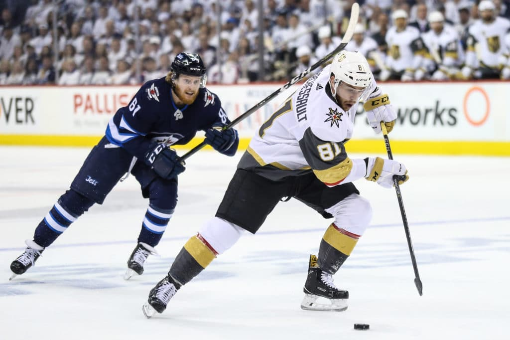 Stanley Cup playoffs: Golden Knights even series 1-1 vs. Jets