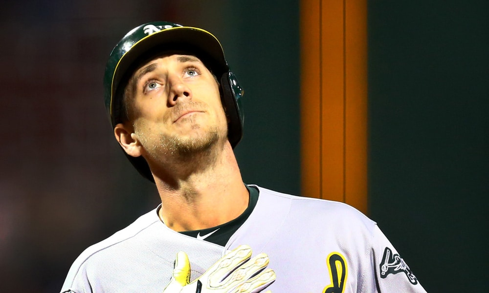 Stephen Piscotty hits home run in first at-bat since mother's funeral
