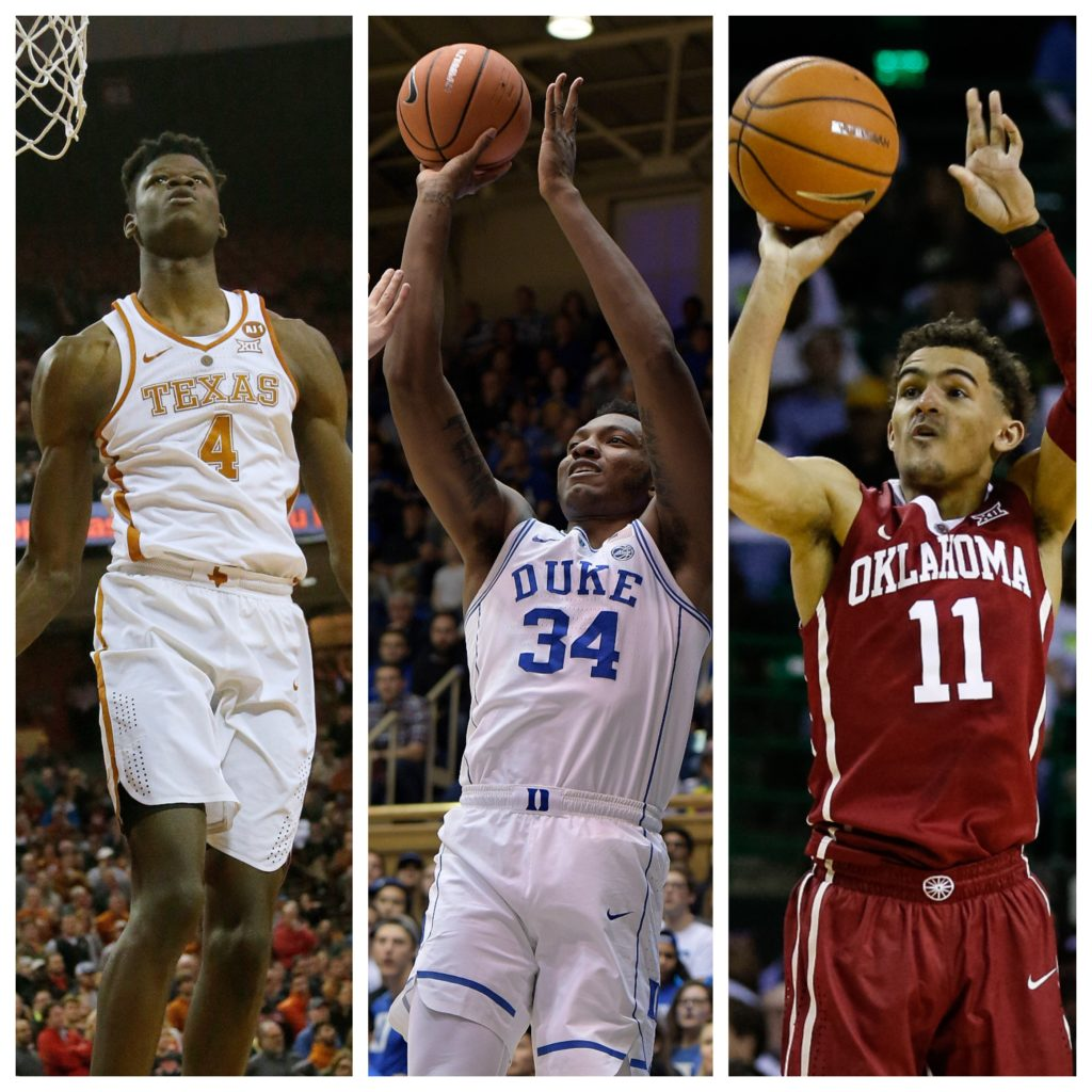 NBA teams look to future with draft lottery, combine