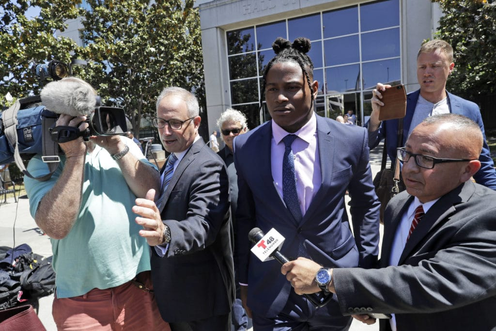 Where things stand in Reuben Foster's domestic violence case