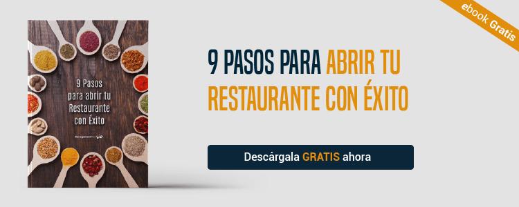 9 pasos para abrir tu restaurante con éxito
