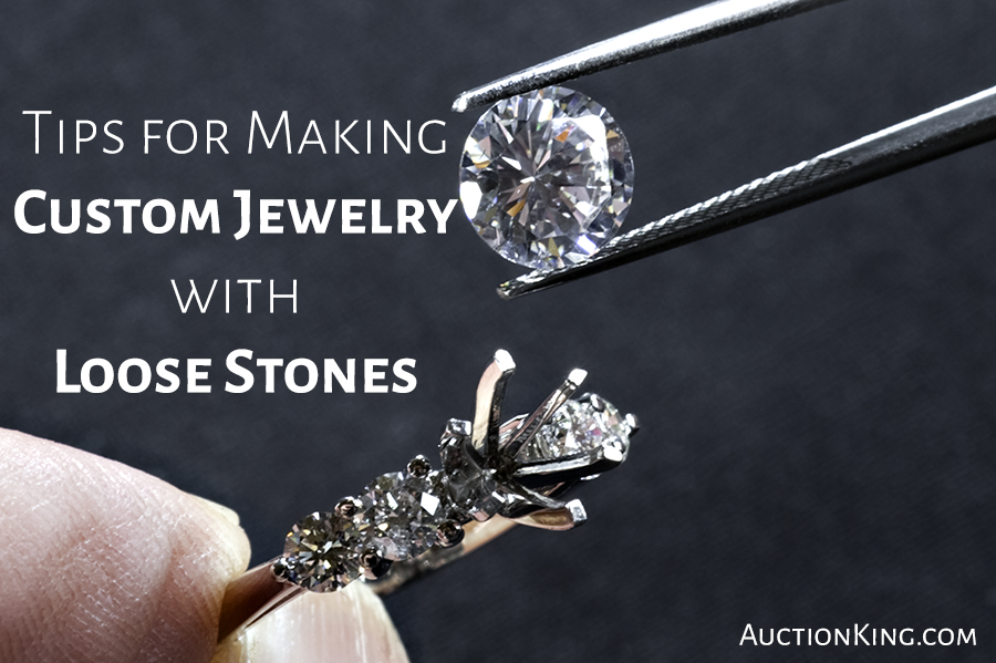 Tips for Making Custom Jewelry with Loose Stones Auction King