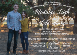 Madalyn and Todd 5x7 back