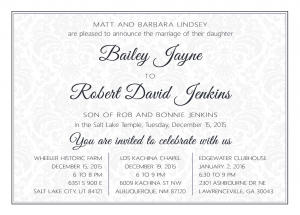 robbie_announce_front Wedding Invitations