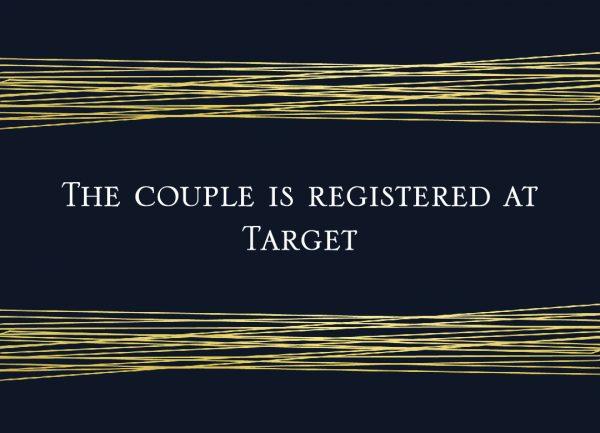Monica and Dane-registry insert front Wedding Invites
