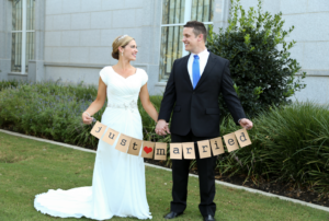 Sarah Barnhill THC Front Wedding Invitations