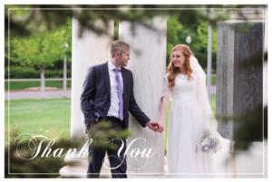 Sarah and Blaine THC Front Wedding Invitations