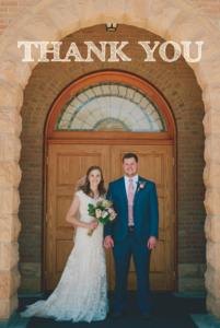 Kimra and Nathan Wedding Invitations