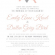 Emily and Dallen Front Wedding Invites