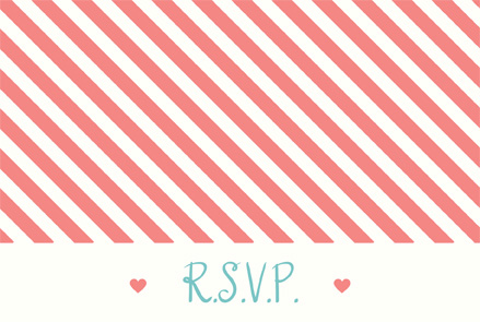Jessica Lowe RSVP Front Wedding Invitations