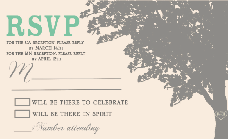 Bekah_RSVP 1 Front Wedding Invitations