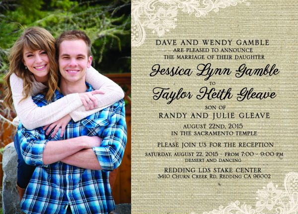 Jessica and Taylor 5x7 front