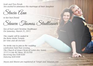 Stacia-FRONT-FINAL Wedding Invitations