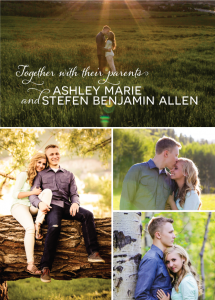 stefan allen_front Wedding Invitations