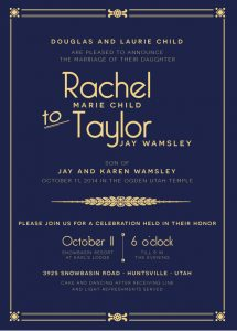 rachel_child_front Wedding Invitations