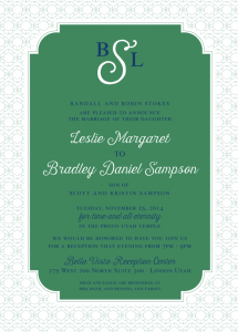 leslie_stokes_front Wedding Invitations