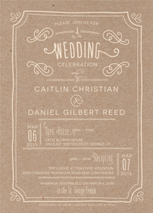 caitlin_christian_front Wedding Invitations