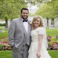 Joseph&WhitneyKnightTYFront Wedding Invitations
