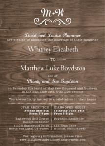 whitneyplummer_front Wedding Invitations
