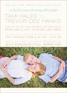 tamihales_front Wedding Invitations