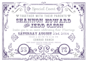 shannonhoward_front Wedding Invitations