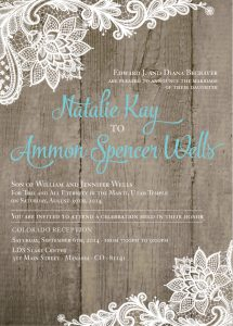 nataliebeachover_front Wedding Invitations