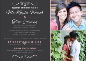 mckayalaweech_front Wedding Invitations