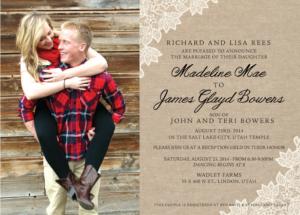 madelinerees_front Wedding Invitations