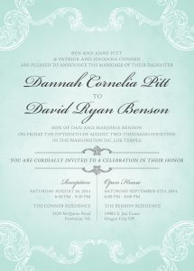 dannahpitt_front Wedding Invitations