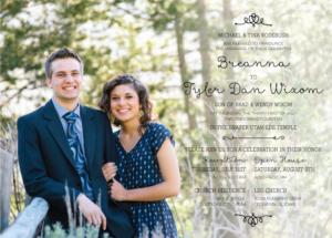 breannarodebush_front Wedding Invitations