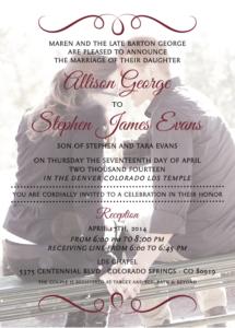 allisongeorge_front Wedding Invitations