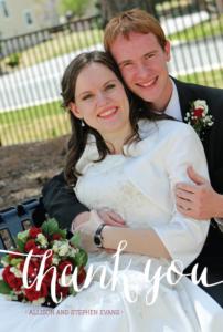 allisongeorge_front_ty Wedding Invitations