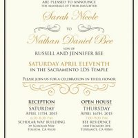 Sarah White Front Wedding Invitations