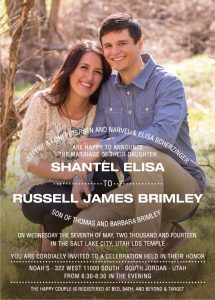 shantel_front Wedding Invitations
