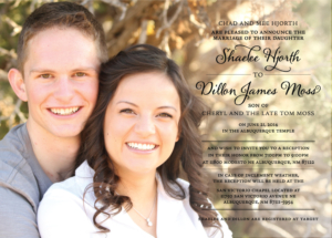 shaelee_front Wedding Announcements