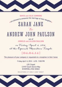 sarahjane_front Wedding Invitations