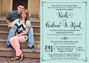 karlig_front Wedding Invitations