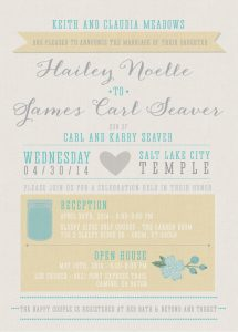 haileym_front Wedding Invitations