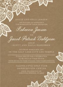becca_front Wedding Invitations