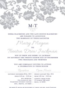 mary_front Wedding Invitations