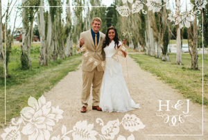hanna_thank_front Wedding Announcements