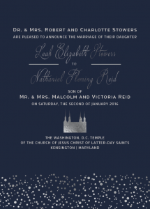 leah-and-nathaniel-front Wedding invitations