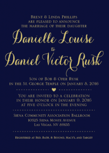 danielle-and-daniel-5x7-front Wedding Invitations