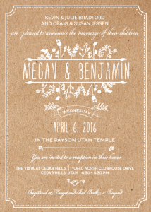 megan-and-benjamin-5x7-front Wedding Invitations