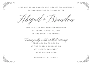 abigail-hansen-invite-front Wedding Invitations