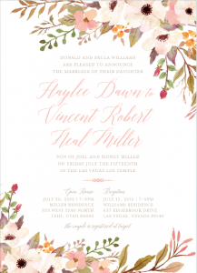 haylee-williams-front Wedding Invitations
