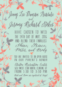 jenny-and-jeromy-5x7-front Wedding Invitations