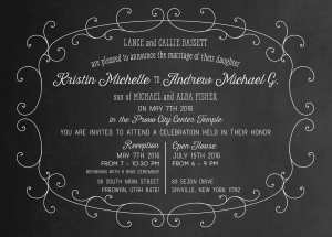 kristin wedding invites